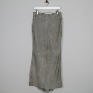 Ralph Laurens Skirt Stone Lined Long Pockets 6